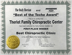 Chiropractic New Iberia Best of the Teche 2020 The Best Chiropractic Clinic