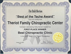 Chiropractic in New Iberia Best of the Teche 2020 Best Chiropractic Clinic